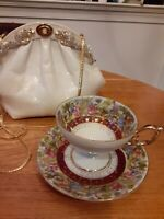 Vtg 50's Arnart Original Creation Courting Couple Tea Cup Set