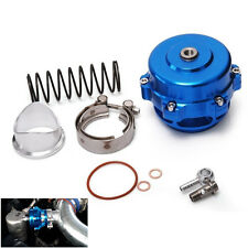 50mm Aluminum Blue Turbocharger Intercooler BOV Blow Off Valve 35 PSI Boost