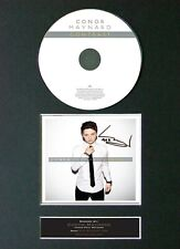 #15 CONOR MAYNARD Contrast CD Signed Autograph Mounted A4