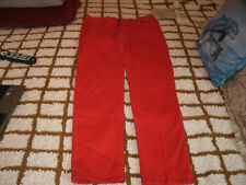 Riflessi ladies red stretch jeans size 17/18