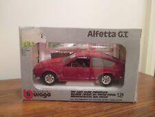 Bburago Alfa Romeo Alfetta G.T (HAT 136) 1/24 Scale. Made in Italy.