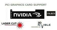 BLACK - LED Backlit NVIDIA - GPU Sagging Support Bracket GTX AMD NIVIDA ATI