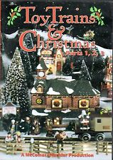 TOY TRAINS & CHRISTMAS Parts 1,2,3 HOLIDAY DISPLAYS SANTA, MICKEY, LIONEL & MORE