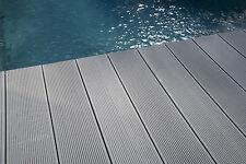 BPC Terrassendielen auf Kundenwunsch 4 5 M grau Holz WPC