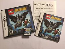 NINTENDO DS DSL DSi GAME LEGO BATMAN 1 THE VIDEOGAME +BOX INSTRUCTIONS COMPLETE
