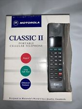 Motorola portable cellular telephone with battery and overnight charger 1994
