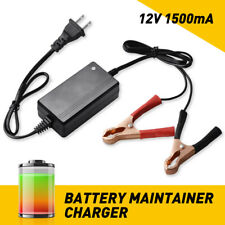 New Car Battery Charger Maintainer Auto 12V Trickle RV for Truck Motorcycle ATV