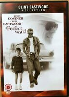 A Perfect World DVD 1993 Kidnap Crime Drama w/ Clint Eastwood + Kevin Costner