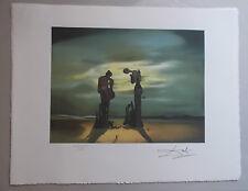 """Lithographie, Salvador Dali , """" Reminiscence Archeologique """" signée et numérotée"""