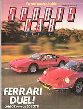 Sports Car World 1985 Apr Toyota MR2 Explorer Pandarus Ferrari XJS Saab 900