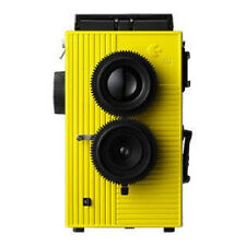 Superheadz Blackbird Fly BBF twin lens TLR camera YELLOW- USA Seller