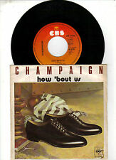 Champaign    -   How ´ bout us
