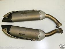 Original Auspuff links rechts both Exhaust Muffler Yamaha R1 YZF1000 Bj. 04-06