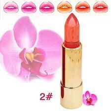 Rosetimes Transparent Flower Jelly Lipstick Temperature Change Color Lip #2 FT