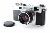 Nikon S2 Late Model Body + H.C. 50mm F/2 Lens from JAPAN [Exc++]