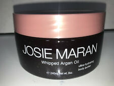 Josie Maran Whipped Argan Oil Body Butter 8 oz SWEET CRANBERRY Lot Hydrating
