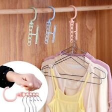 Organizer Space Saver Wonder Magic 5 Hook Holder Hanger Closet Wardrobe Clothes