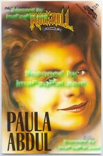 American Idol Judge Paula Abdul Rock N Roll #41 Comic Excellent!
