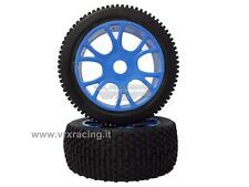 COPPIA RUOTE COMPLETE X BUGGY 1/8 OFF ROAD TYRE COMPLETE SET 2 PCS 85046B VRX