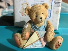 Enesco Cherished Teddies #914770 Friendship Is In The Air Mark March New In Box