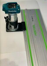Makita DRT50Z, RT0700CX Router to Festool Track Guide Rail Adaptor
