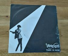 "Expressos Tango In Mono Portuguese 7"" Pic Sleeve WEA K18431 New Wave Punk"