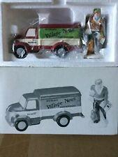 Dept 56 Snow Village® Village News Delivery Set Of 2 -Brand New Still In Plastic