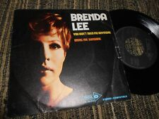 "Brenda Lee You Don'T Need Me Anymore / Bring Me Sunshine 7 "" 45 1970"