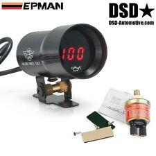 Öldruck Anzeige Öldruckmesser Zusatz Instrument inklusive Sensor 37mm