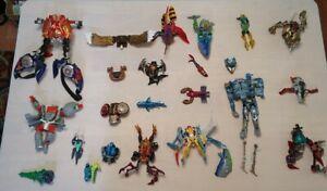 Transformers Beast Wars Incomplete parts lot fodder action figure transmetal