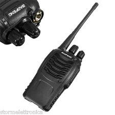 BAOFENG BF 888 S RICETRASMITTENTE PMR RADIO UHF 400-470 MHz WALKIE TALKIE CUFFIE
