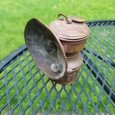 New listing vintage brass Guys Dropper. carbide miners headlamp