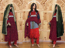 antique Vintage afghanistan nomadic Kuchi ethnic traditional dress costume No-4