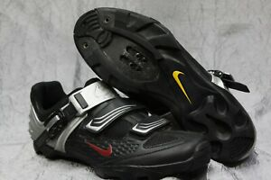 Nike Lance All-Road 90649 Black/Silver Cycling Shoes Men's 9.5