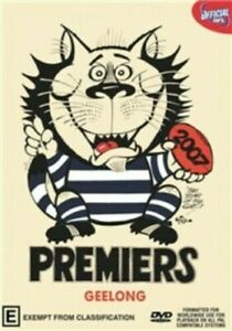 Geelong Cats 2007 AFL premiers dvd - grand final - Brand new sealed - free post!