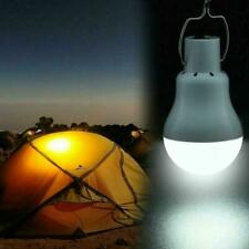 20W Solar Panel Power LED Bulb Light Portable Outdoor Energy Tent Camping V3A1