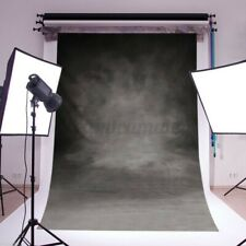 3X5FT Vintage Black Grey Photo Backdrop Photography Studio Background Cool Style
