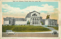 Postcard Art Museum, Forest Park, St. Louis, MO Posted 1925