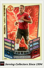 2012-13 Match Attax 100 Club Foil Card #502 Robin Van Persie (Manchester United)