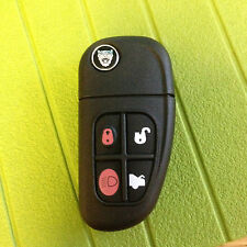 JAGUAR XJ XJR X S type 4 BUTTON FLIP CENTRAL LOCK REMOTE KEY ALARM FOB CAN CUT.