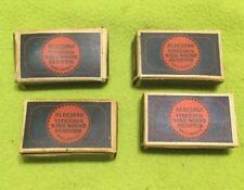 VTG ~ Electra ~ Vitreous ~ Wire Wound ~ Resistor ~ Original Box ~ Lot Of Four