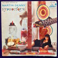 MARTIN DENNY Hypnotique LP LIBERTY Mono 1A Exotica CHEESECAKE Green Lbl VG/VG+
