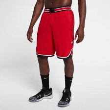 Mens Nike Vapor Knit Basketball Athletic Shorts 925795-657 Red New Sz M