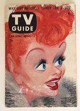 TV GUIDE - LUCILLE BALL  -  NOVEMBER 2, 1957
