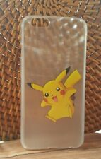 iPhone 4/4S Pokemon  Pikachu Jump Character Hard Mobile Cover Case
