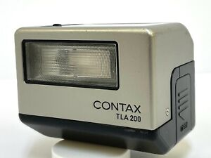 "[Exc+++++ ""READ""] Contax TLA200 Shoe Mount Flash For G1 G2 From JAPAN #689"