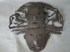 Sculpture Wall Art HANDMADE metal signed by Artist 22""