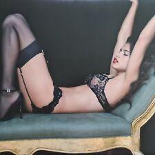 "Authentic Victoria Secret Adrian Lima Poster 21""x24"" Cardboard Box (2"" wide)"