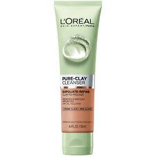 LOreal Paris Skincare Pure Clay Cleanser Exfoliate and Refine 4.4 fl oz