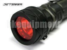 JETBeam FSR34 Red Diffuser Filter Jet-III M/RRT-21/BC25/PC25/RRT-2 Flashlight
